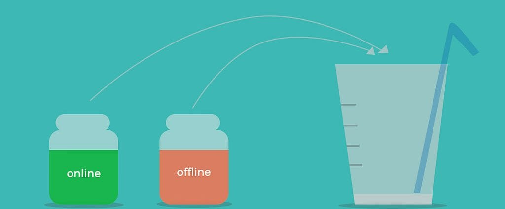 merging your company's online and offline customer experience